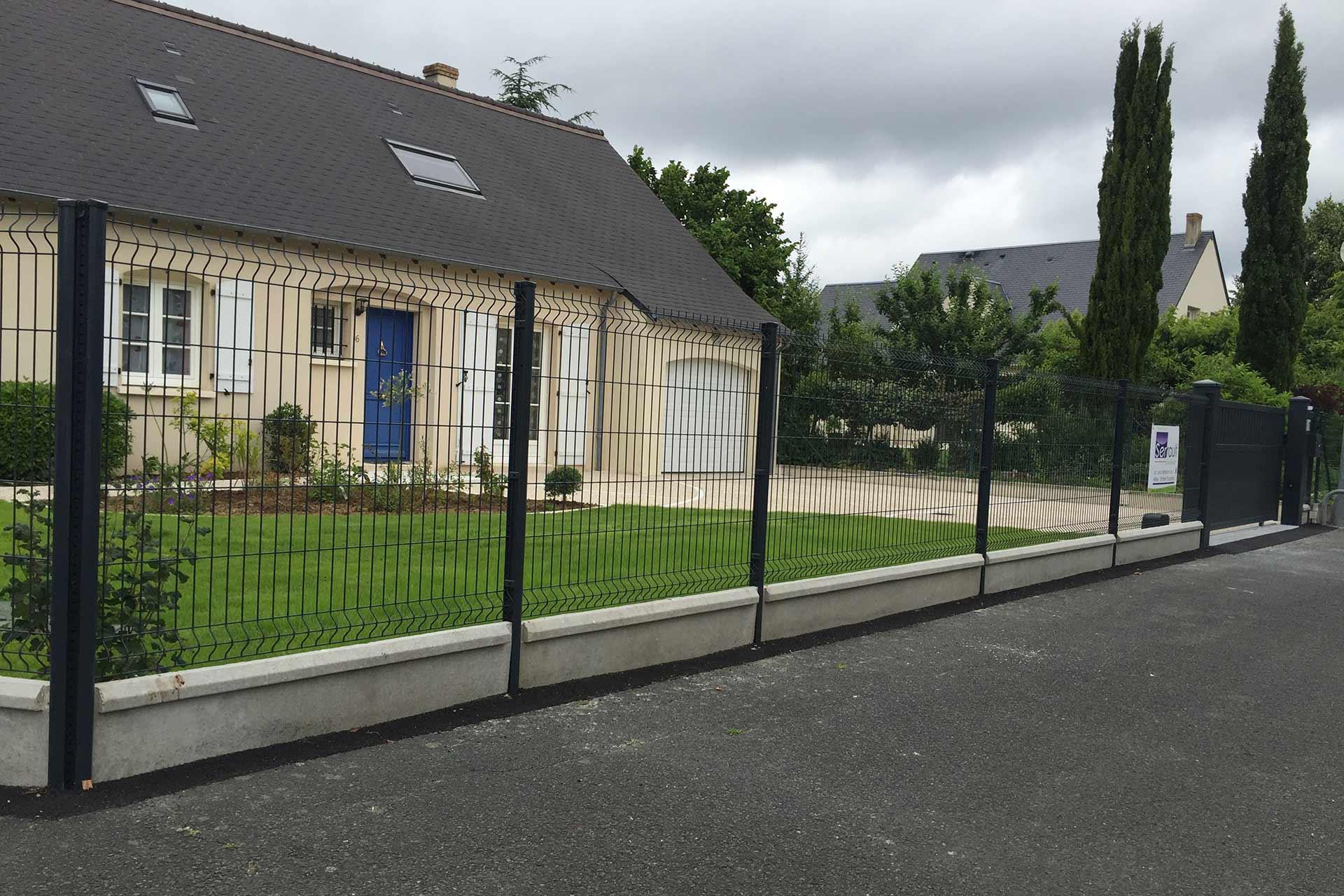 Serrault Jardins vous propose une large gamme de clôture en aluminium.