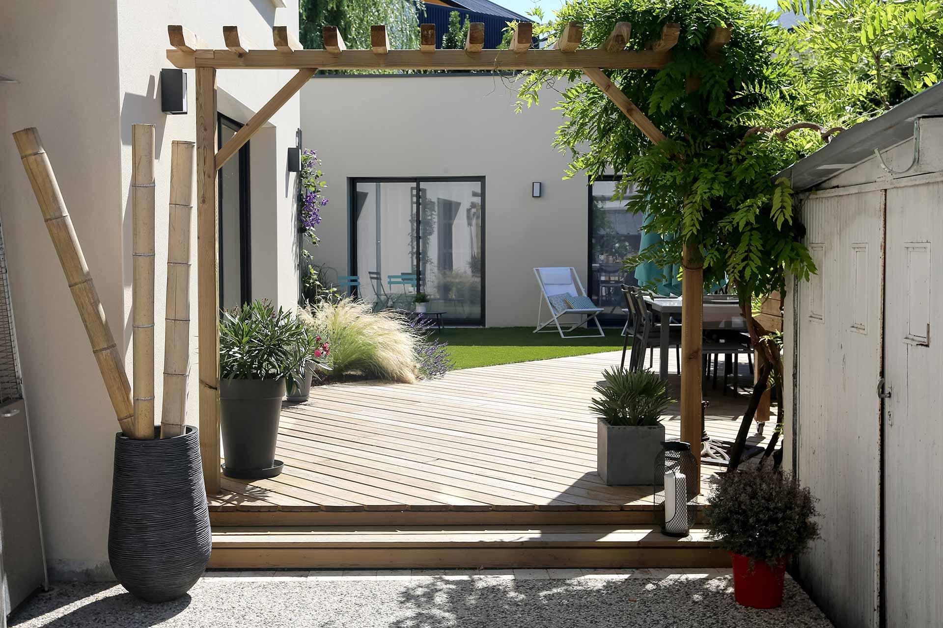 Serrault Jardins, est une entreprise d'architecture paysagère en Indre et Loire, à la Ville aux Dames.