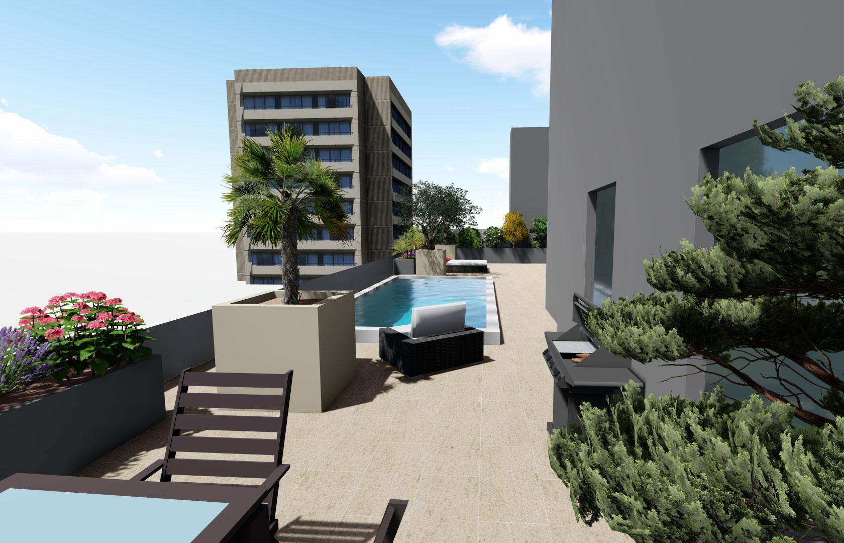 Entreprise du paysage, Serrault Jardins réalise des terrasses sur-mesure.