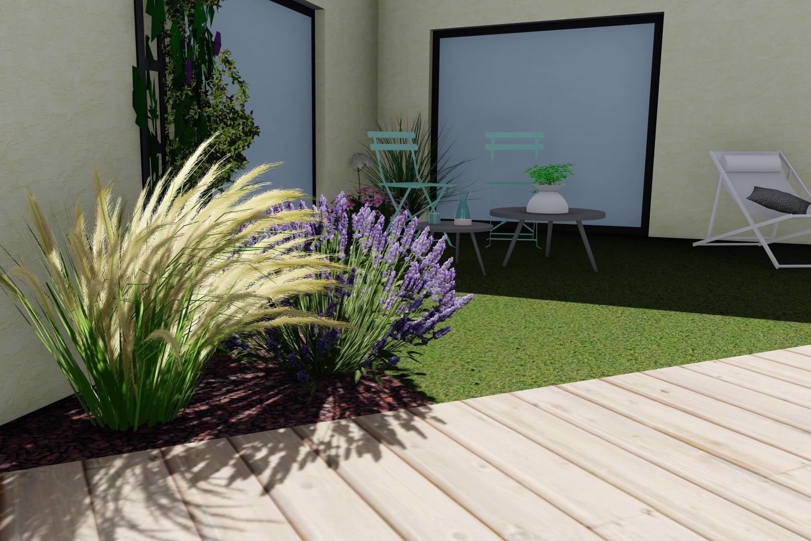 Entreprise du paysage, Serrault Jardins réalise des jardins sur-mesure dans diverses communes comme Veigné.