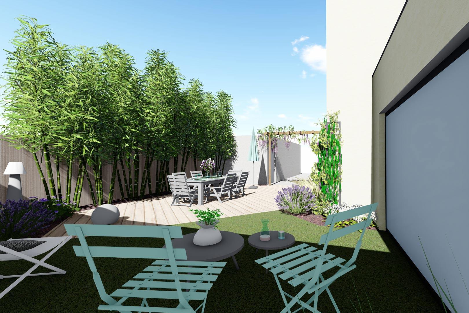 Serrault Jardins, vous propose une large gamme de pergolas pour votre terrasse.
