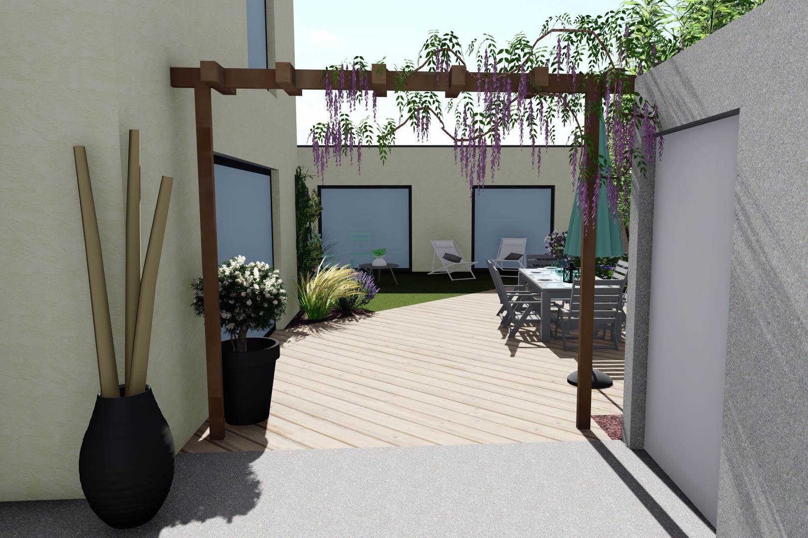 Serrault Jardins, entreprise du paysage sur La Villes aux Dames dans le 37, en Indre et Loire.