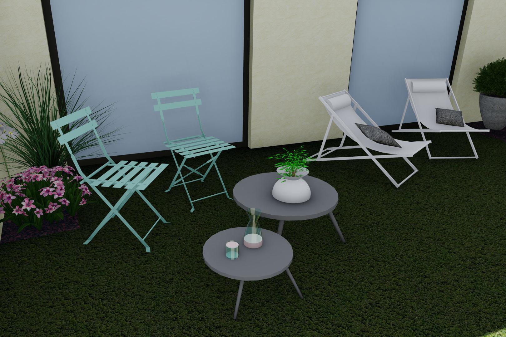 Serrault Jardins, entreprise du paysage sur La Villes aux Dames dans le 37 vous propose de la pelouse synthétiques pour votre jardin.