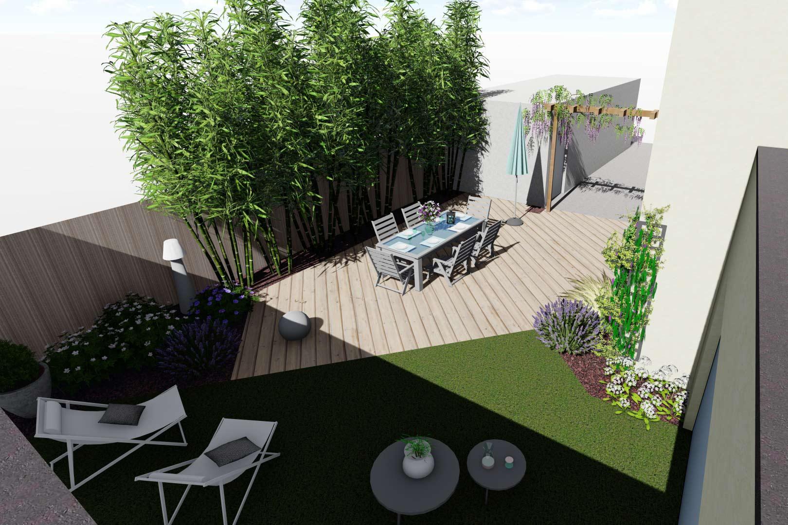 Entreprise du paysage, Serrault Jardins réalise des jardins sur-mesure dans diverses communes comme Artannes-sur-Indre.