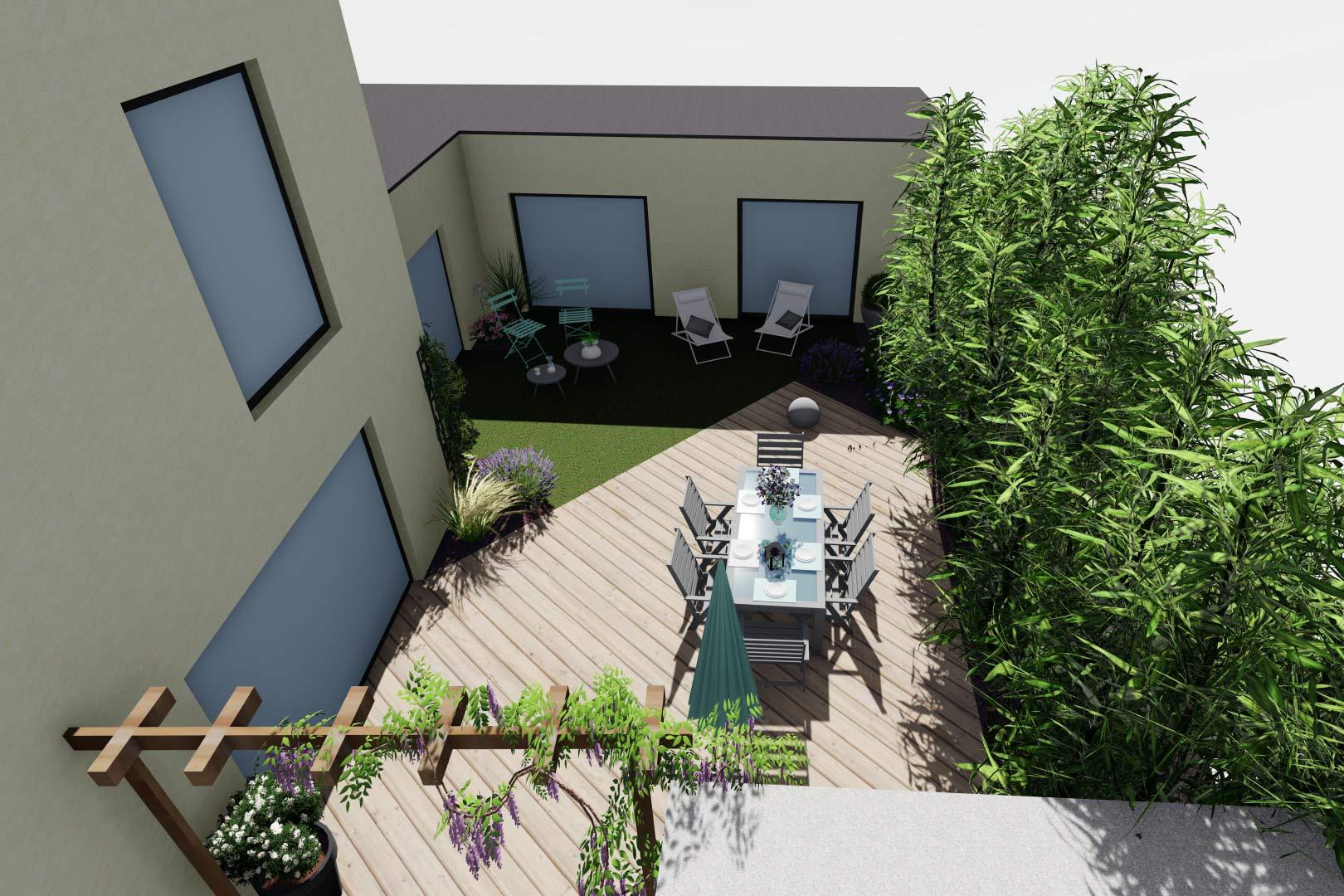 Entreprise du paysage, Serrault Jardins réalise des jardins sur-mesure dans diverses communes comme Monts.