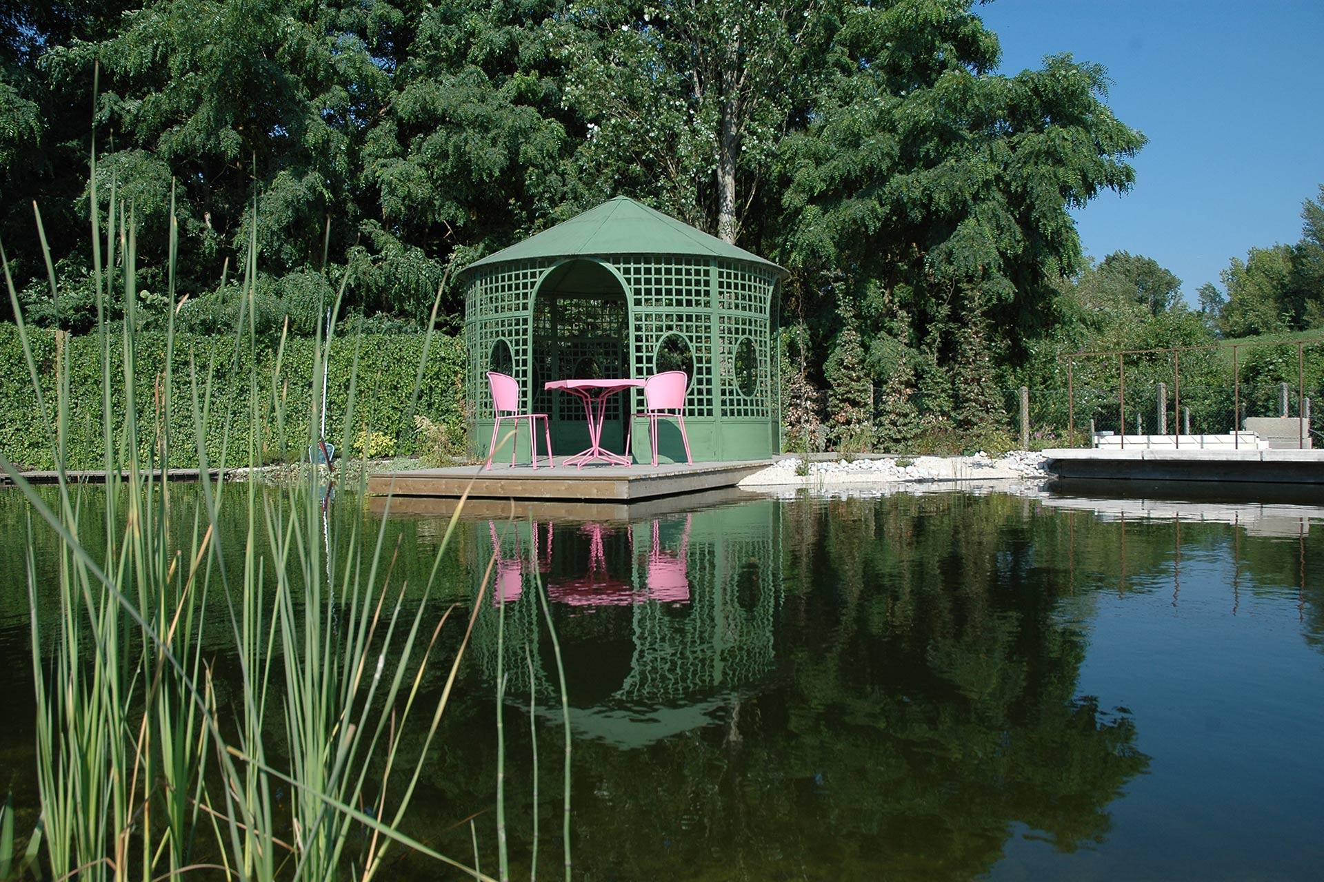 Serrault Jardins, créateur de bassins à la Ville aux Dames.