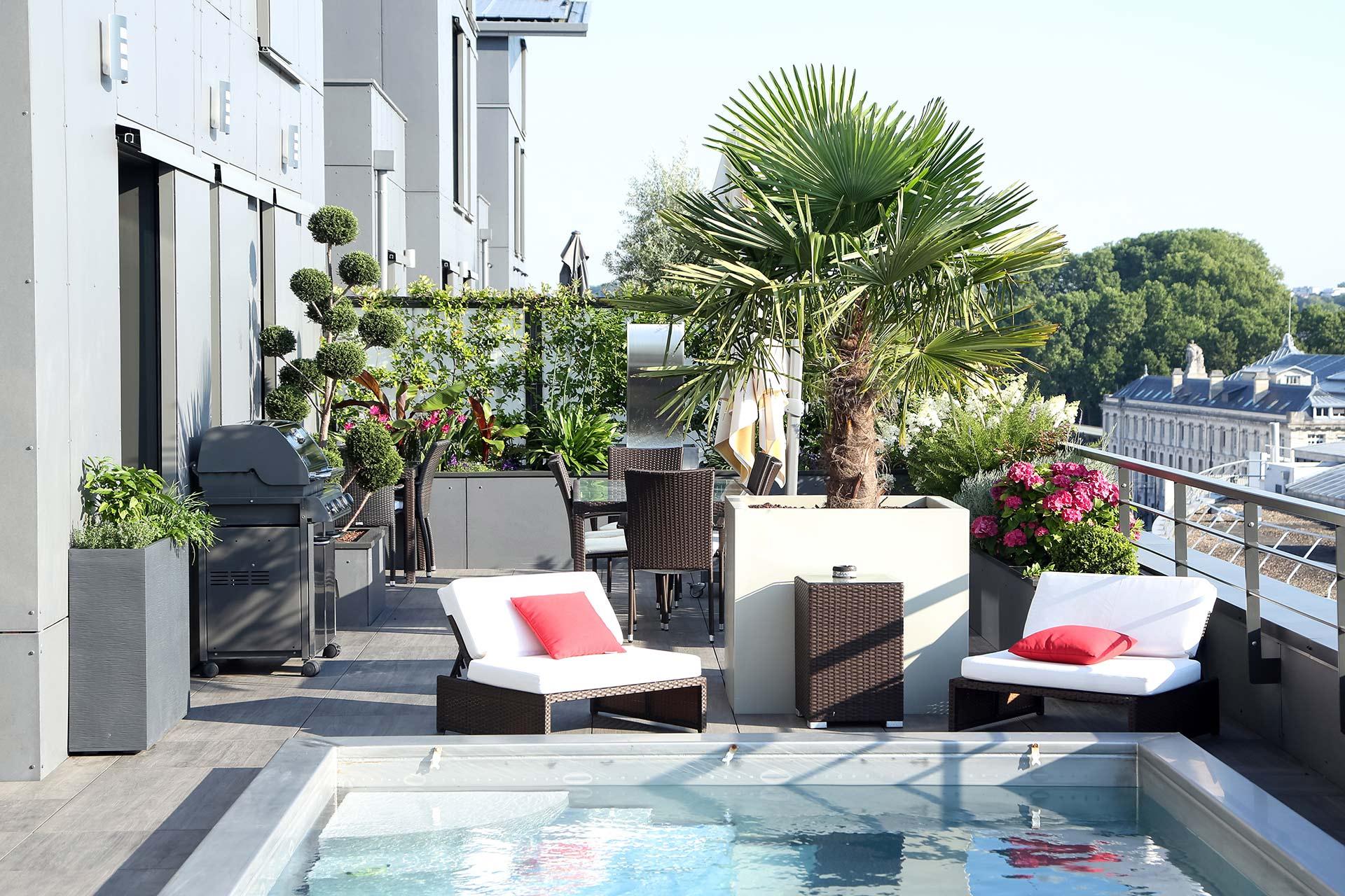Entreprise du paysage, Serrault Jardins réalise l'ensemble de votre jardin.