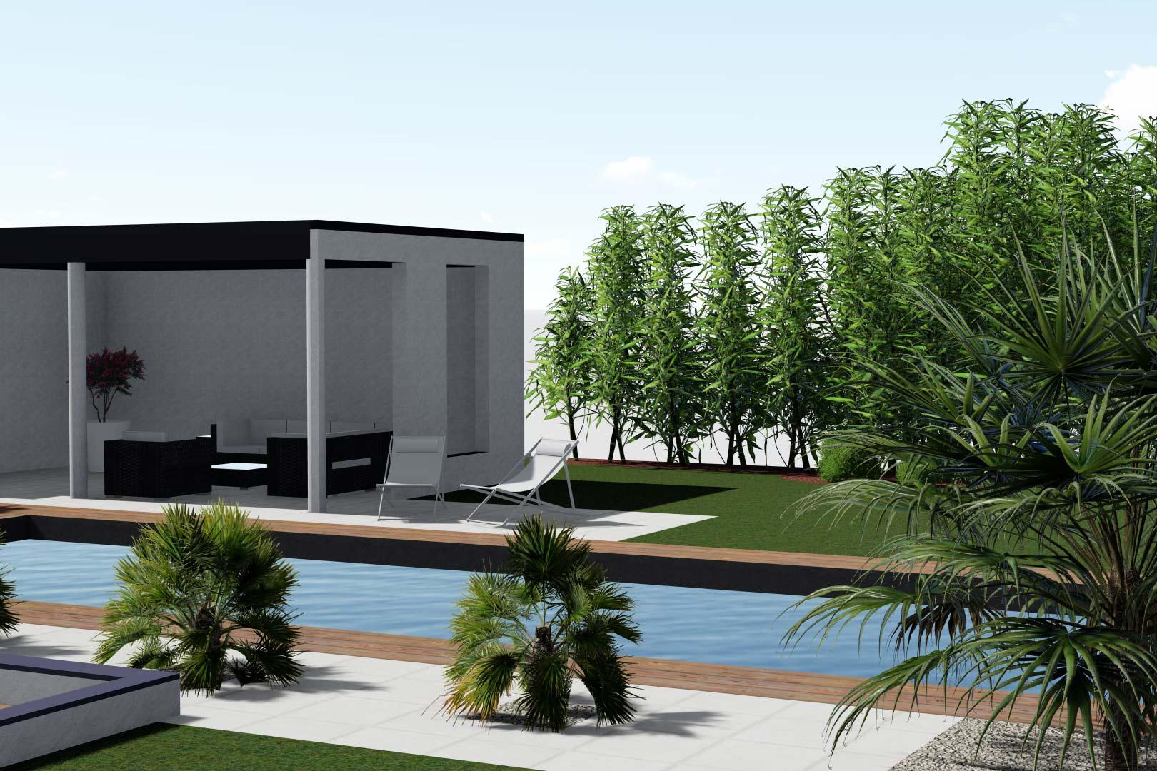 Entreprise du paysage à Tours, Serrault Jardins conçoit et réalise votre jardin.