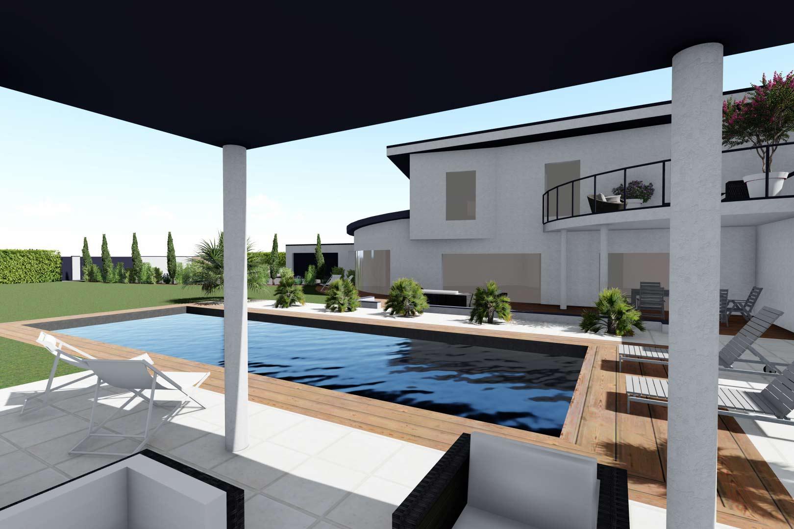Serrault Jardins, études et réalisations de vos espaces de vie extérieurs.