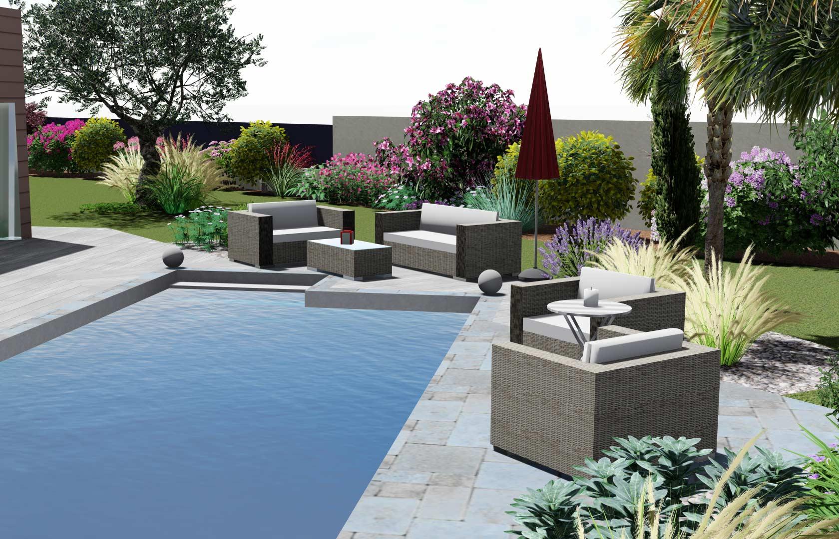 Serrault Jardins, réalise votre jardin en Indre et Loire.