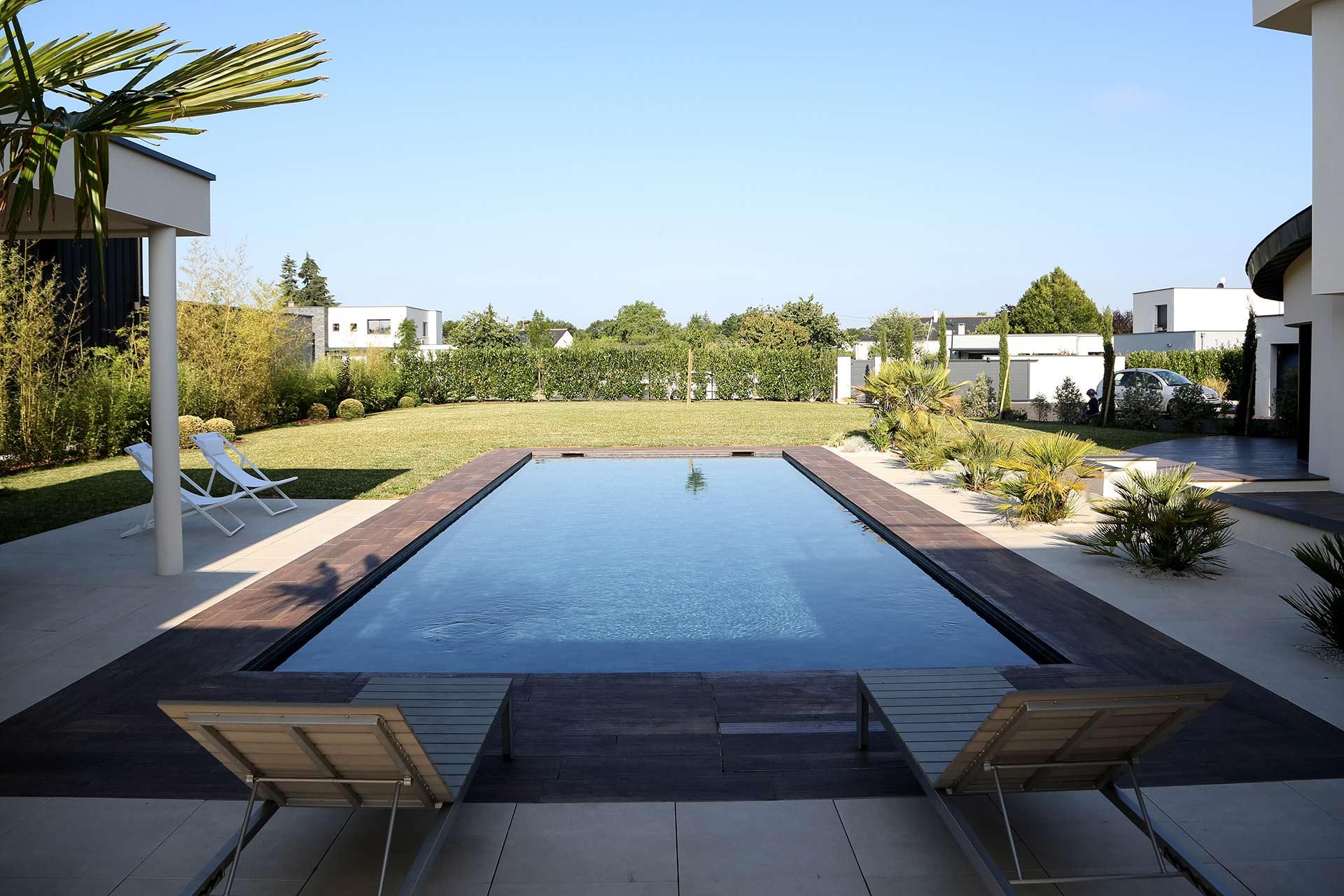 A la Tours, en Indre et Loire, votre paysagiste Serrault Jardins.