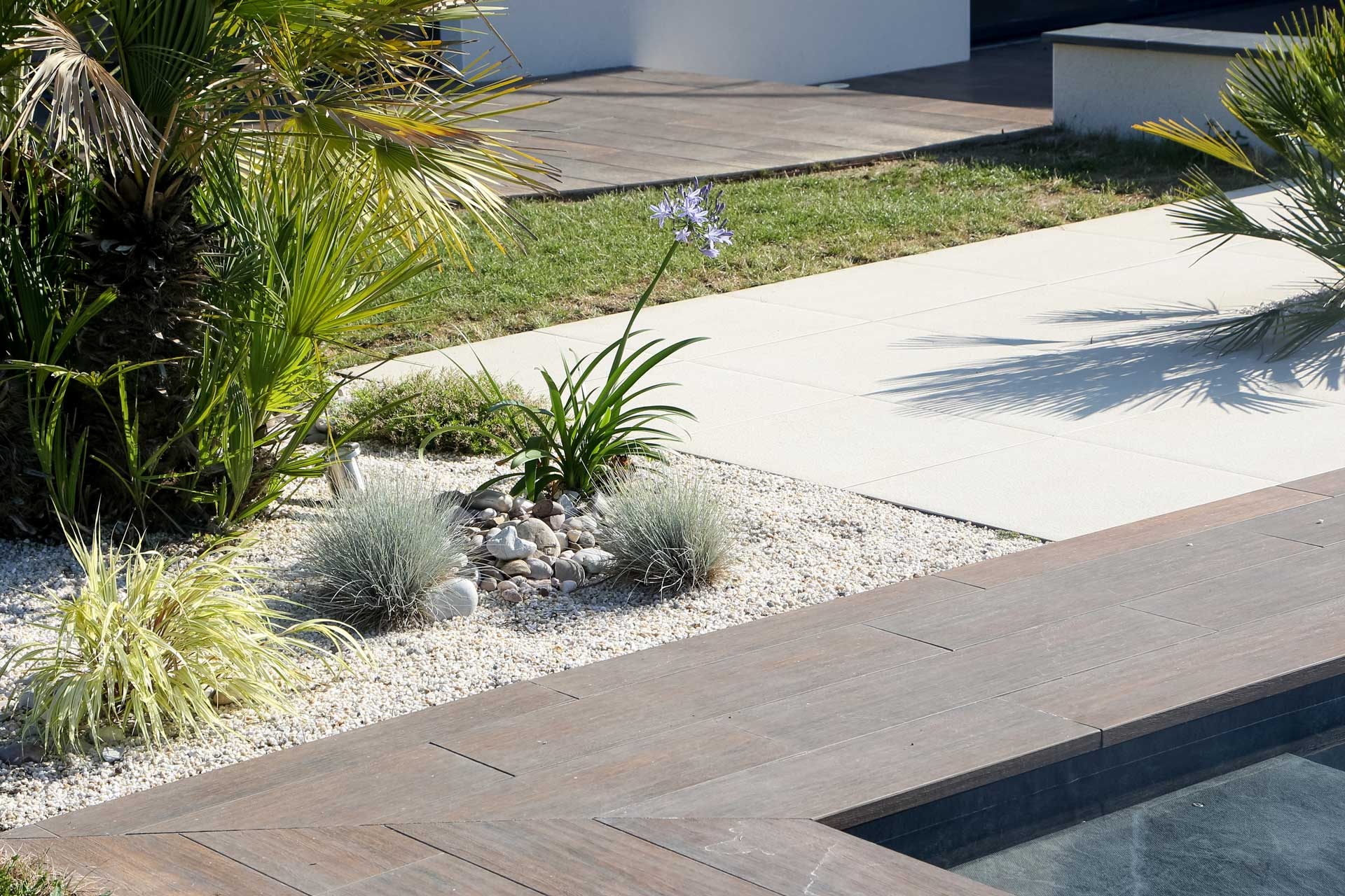 A la Villes aux Dames, Tours, La Riche ou encore Fondettes, Serrault Jardins réalise l'ensemble de votre jardin.
