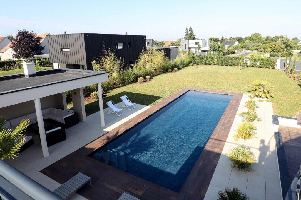 Serrault Jardins, réalise des jardins dans le centre de la France à Tours.