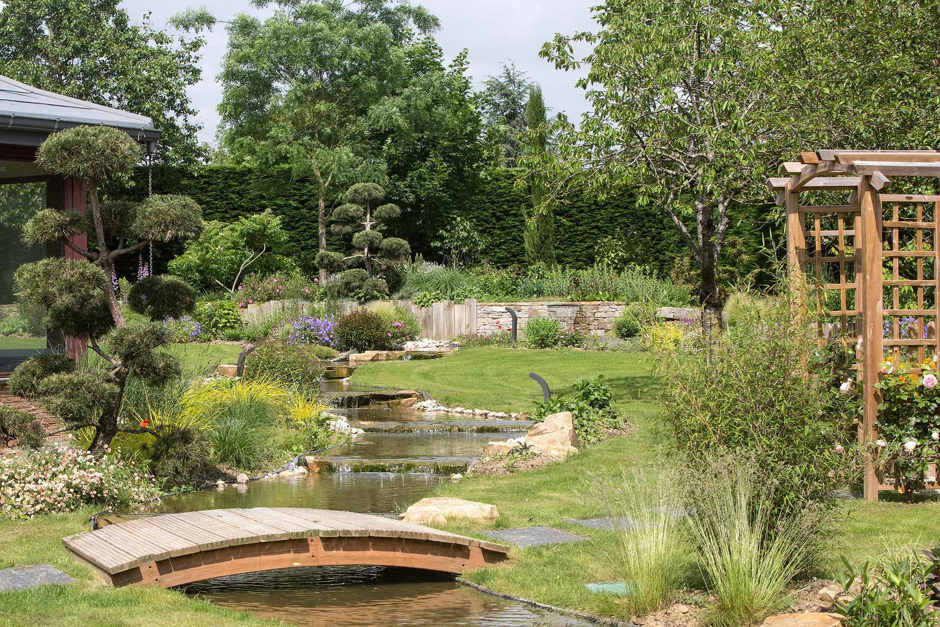 Nous concevons votre jardin selon vos besoins et envies.