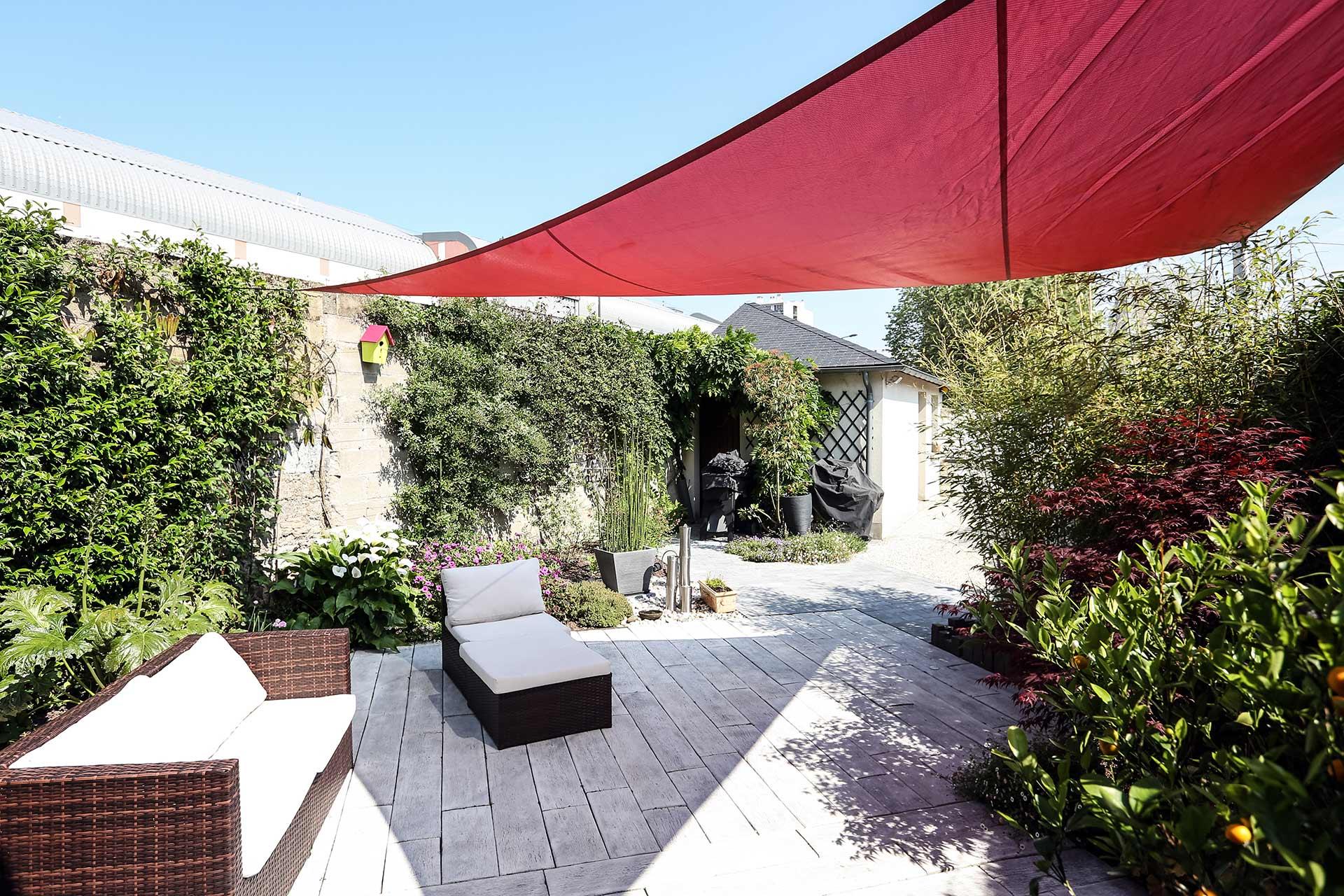 Serrault Jardins, réalise des jardins à la Ville aux Dames et aux alentours : Fondettes, Saint Cyr-sur-Loire, Vouvray....
