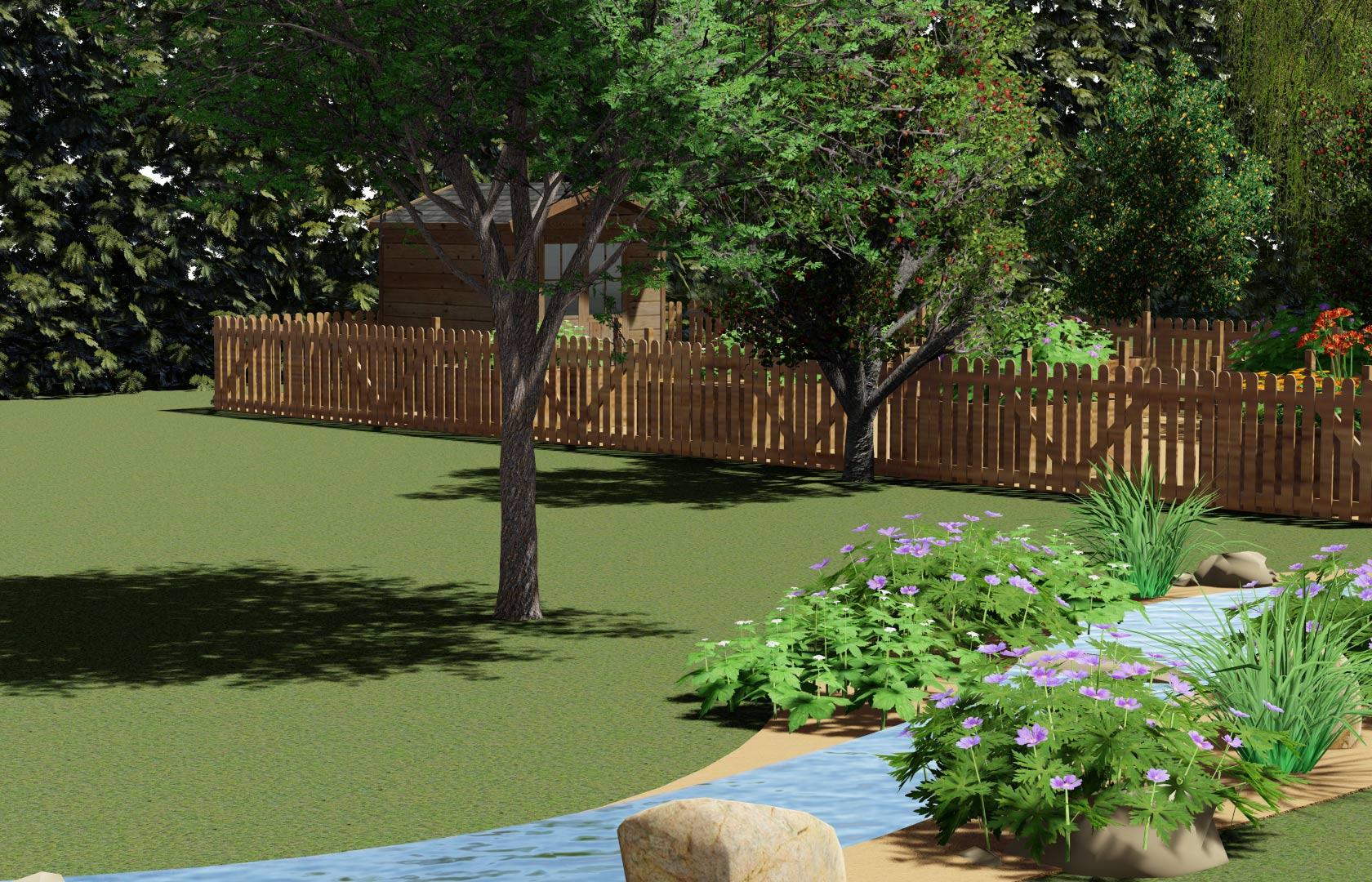 Serrault Jardins, entreprise de paysage depuis 1981 nous réalisons des terrasses en lame imitation bois.