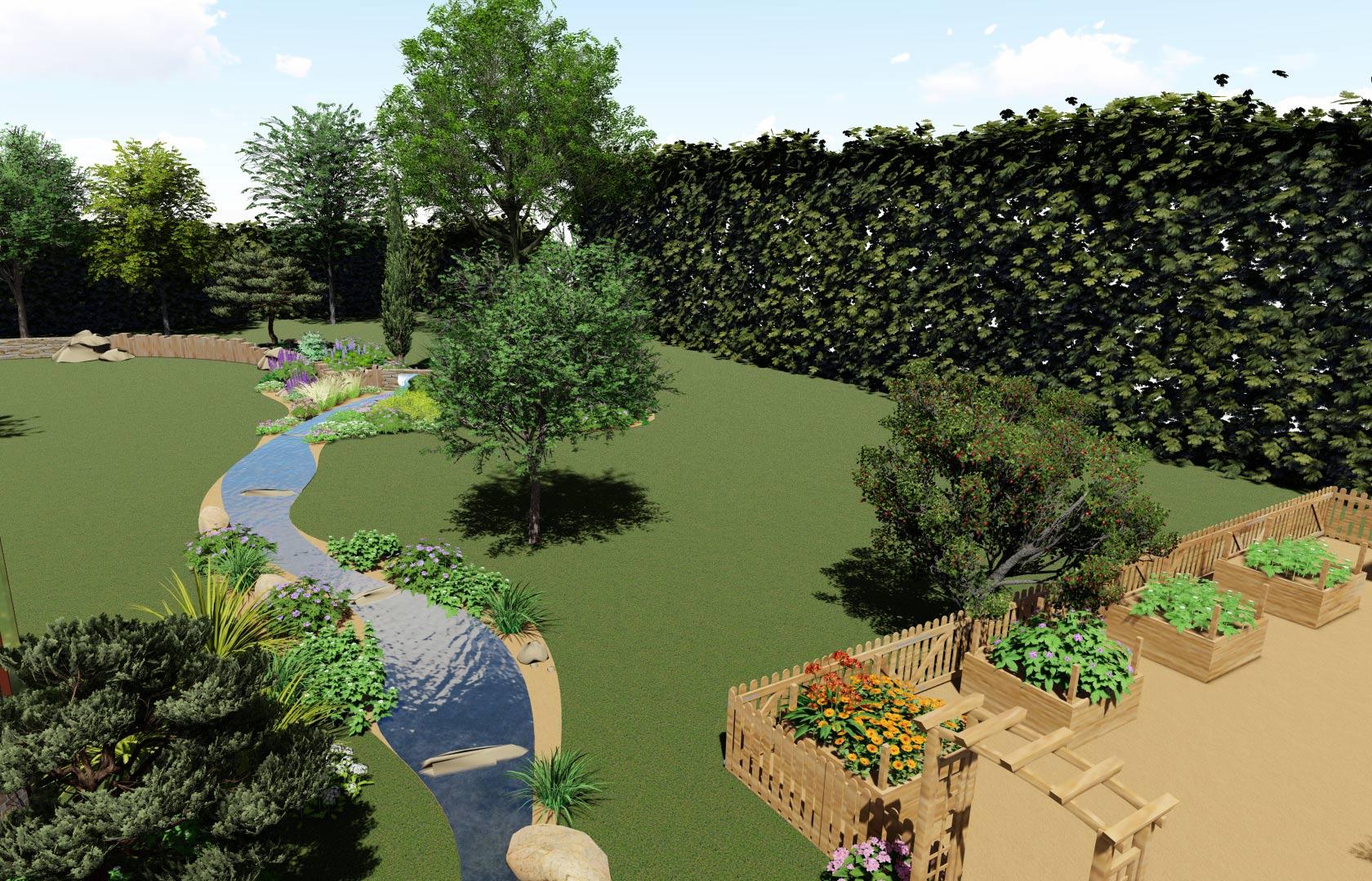 Nous prenons également en charge la création de terrasse.