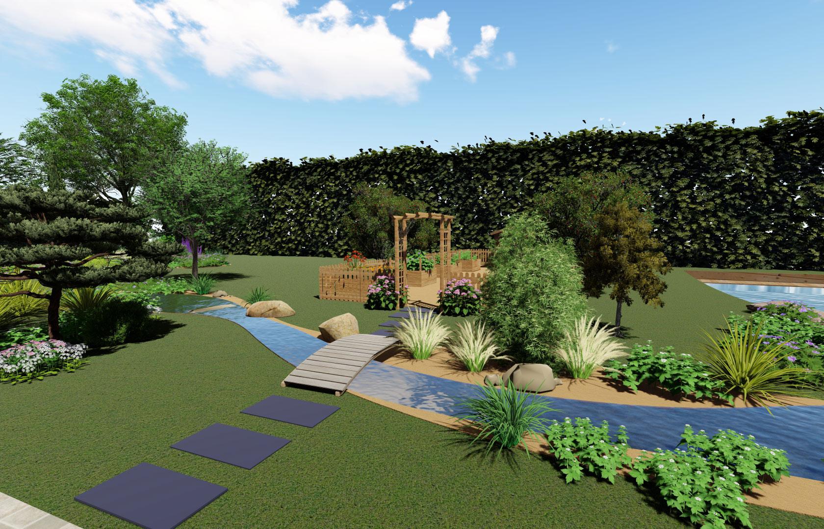 Serrault Jardins, entreprise de paysage depuis 1981 nous réalisons des terrasses bois.
