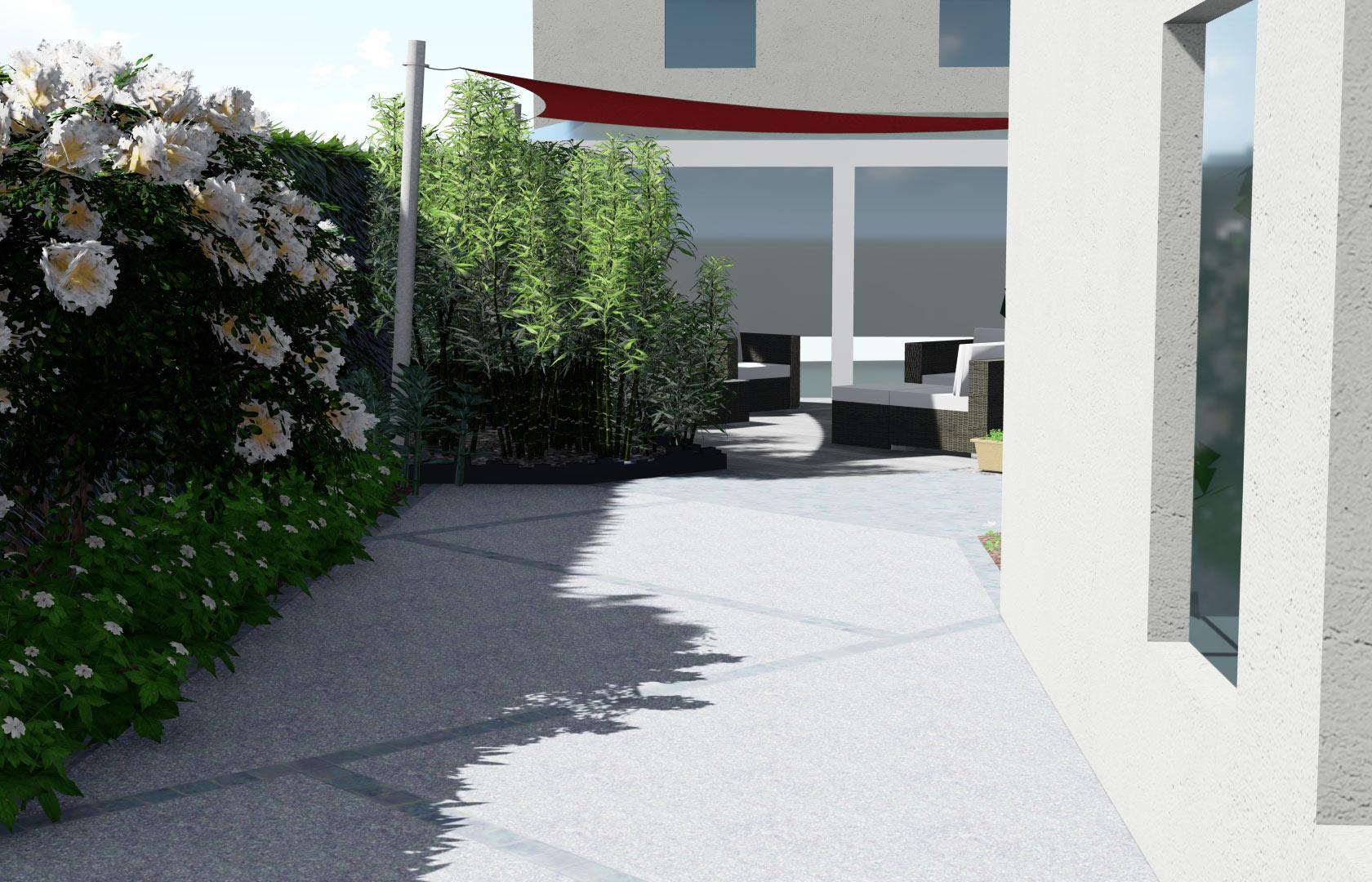 Paysagiste à la Ville aux Dames, Serrault Jardins réalise des accès et allées.