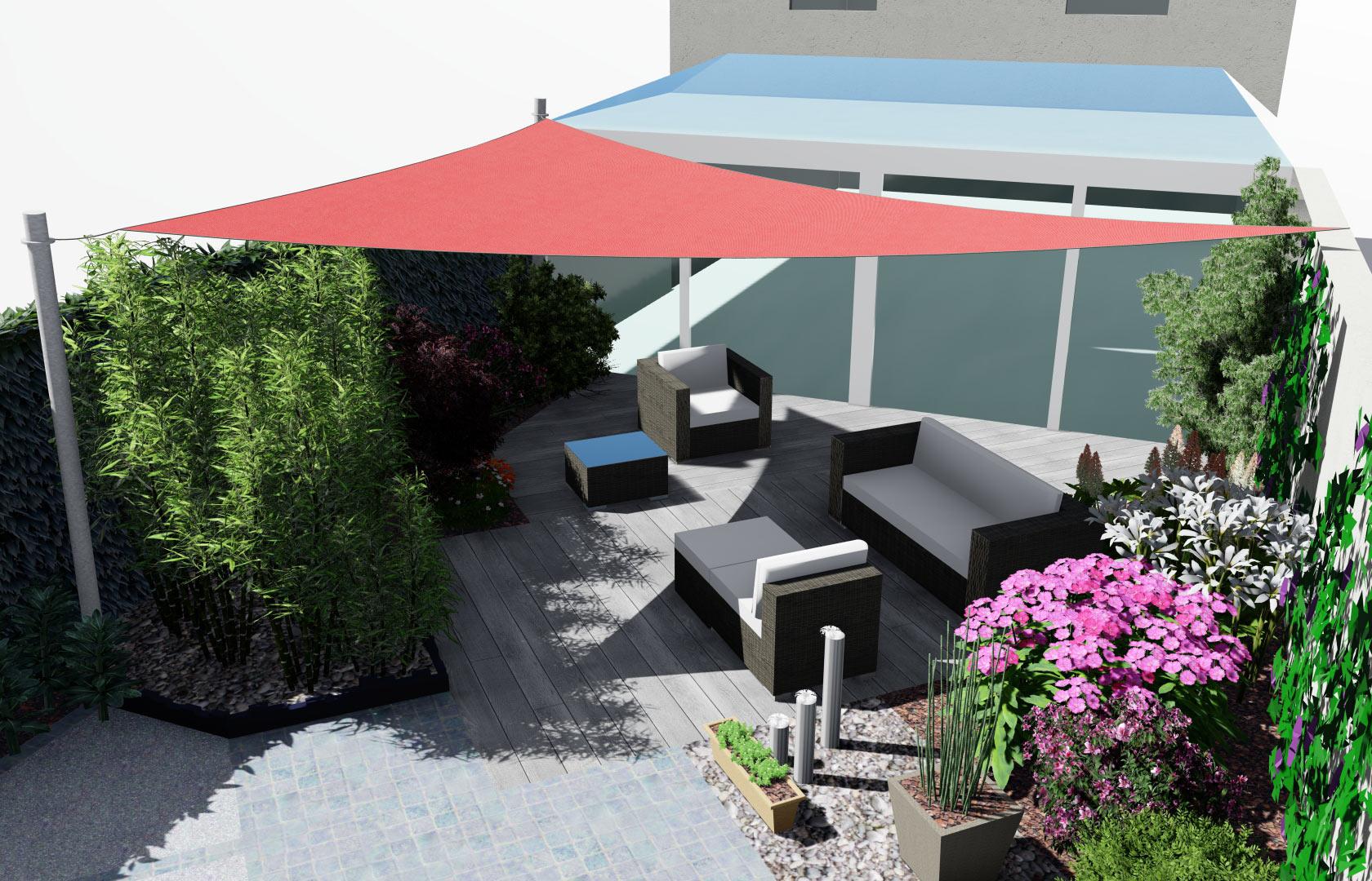 Paysagiste à la Ville aux Dames, Serrault Jardins réalise des terrasses en pavés.