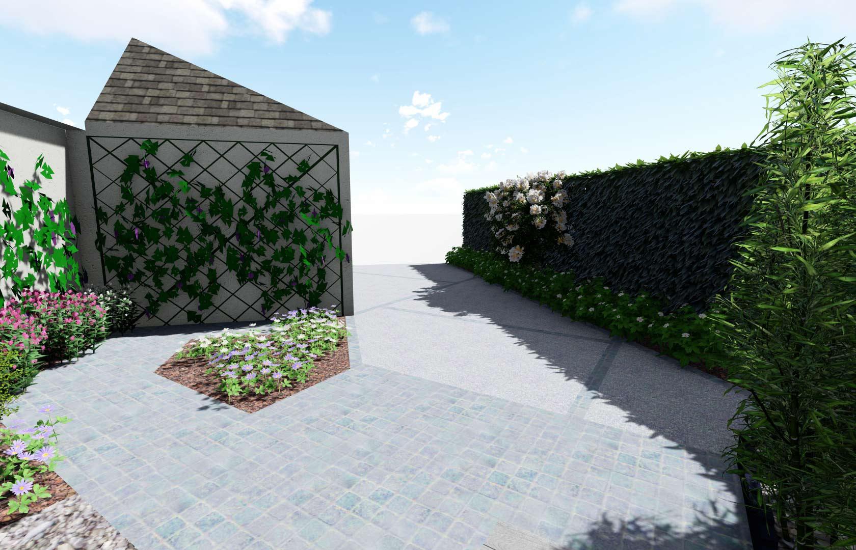 Serrault Jardins, créateur de jardins pour les particuliers en Touraine.