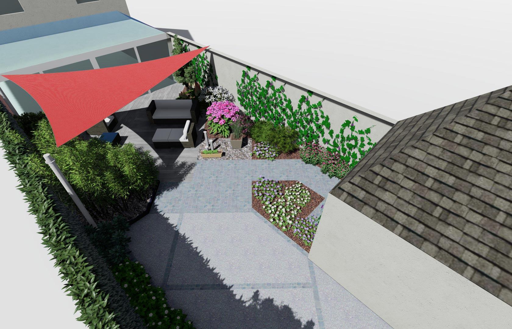 Serrault Jardins crée des jardins et des allées sur mesure.