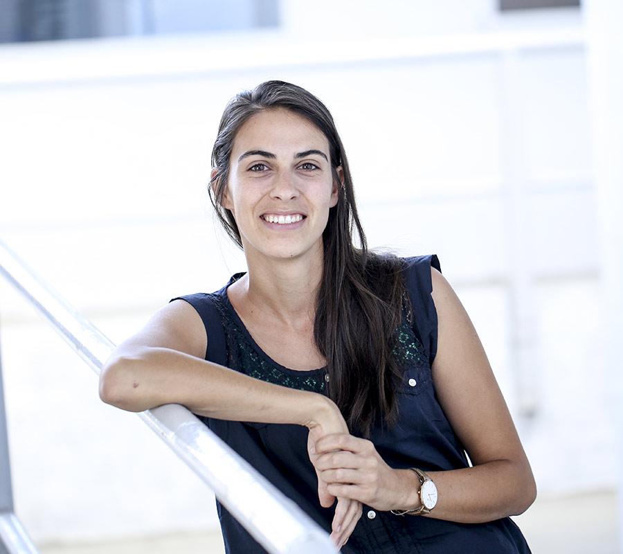 Lucie Réty, paysagiste chez Serrault Jardins, paysagiste en Touraine.
