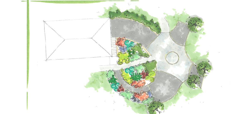 Serrault Jardins, paysagiste en Indre et Loire vous propose la conception de jardins.