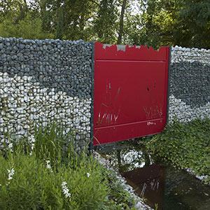 Serrault Jardins propose des murs à gabion.