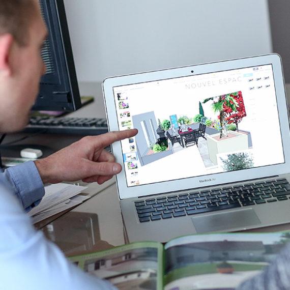 Serrault Jardins vous propose la conception et la réalisation de votre jardin.
