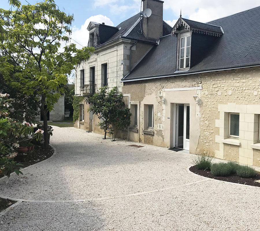 Serrault Jardins, paysagiste en Indre et Loire vous propose la conception d'allées made in France.